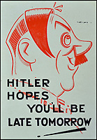 Work hard-Win war...WW2 posters for sale.