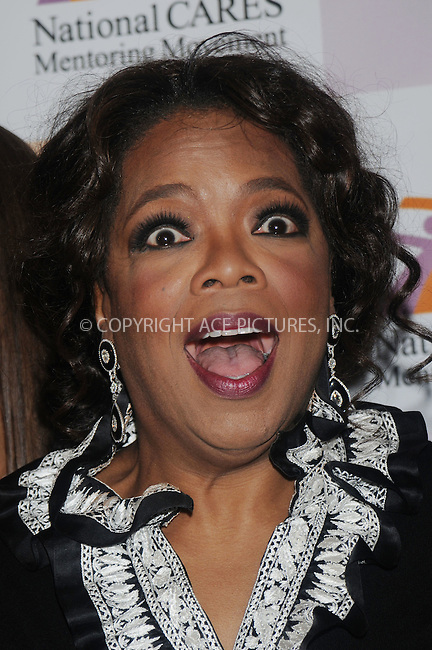 WWW.ACEPIXS.COM . . . . . ....December 2 2008, New York City....TV personality Oprah Winfrey arriving at a celebration of Susan Taylor's 37 Years at Essence magazine at ESPACE on December 2, 2008 in New York City.....Please byline: KRISTIN CALLAHAN - ACEPIXS.COM.. . . . . . ..Ace Pictures, Inc:  ..(646) 769 0430..e-mail: info@acepixs.com..web: http://www.acepixs.com