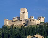 ITA, Italien, Umbrien, Assisi: Rocca Maggiore | ITA, Italy, Umbria, Assisi: Rocca Maggiore