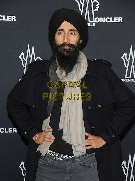 NEW YORK, NY - FEBRUARY 14:  Waris Ahluwalia attends the Moncler Grenoble fashion show during 2017 New York Fashion Week at The Hammerstein Ballroom on February 14, 2017 in New York City.   <br /> CAP/MPI/PAL<br /> &copy;PAL/MPI/Capital Pictures