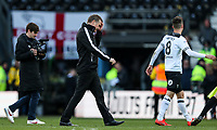 Bolton Wanderers' manager Phil Parkinson walks off the pitch at the end of the match<br /> <br /> Photographer Andrew Kearns/CameraSport<br /> <br /> The EFL Sky Bet Championship - Derby County v Bolton Wanderers - Saturday 13th April 2019 - Pride Park - Derby<br /> <br /> World Copyright &copy; 2019 CameraSport. All rights reserved. 43 Linden Ave. Countesthorpe. Leicester. England. LE8 5PG - Tel: +44 (0) 116 277 4147 - admin@camerasport.com - www.camerasport.com