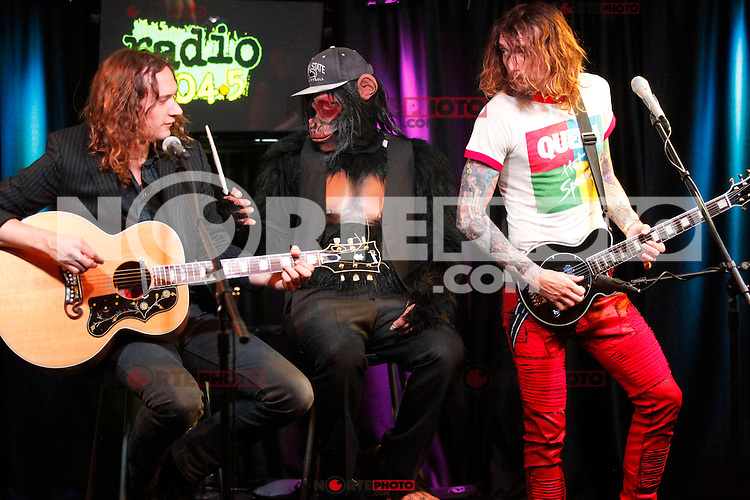 PHILADELPHIA, PA - AUGUST 2: The Darkness visit Radio 104.5's iheart Radio Performance Theater in Bala Cynwyd, Pa on August 2, 2012&nbsp; &copy; Star Shooter / MediaPunch Inc. /NortePhoto.com<br /> <br /> **SOLO*VENTA*EN*MEXICO**<br /> **CREDITO*OBLIGATORIO** <br /> *No*Venta*A*Terceros*<br /> *No*Sale*So*third*<br /> *** No Se Permite Hacer Archivo**<br /> *No*Sale*So*third* PHILADELPHIA, PA - AUGUST 2: The Darkness visit Radio 104.5's iheart Radio Performance Theater in Bala Cynwyd, Pa on August 2, 2012&Acirc;&nbsp; &Acirc;&copy; Star Shooter / MediaPunch Inc. /NortePhoto.com<br /> <br /> **SOLO*VENTA*EN*MEXICO**<br /> **CREDITO*OBLIGATORIO** <br /> *No*Venta*A*Terceros*<br /> *No*Sale*So*third*<br /> *** No Se Permite Hacer Archivo**<br /> *No*Sale*So*third*