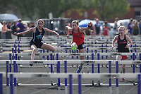 NWA Democrat-Gazette/J.T. WAMPLER Image from the Bulldog Relays in Fayetteville Wednesday April 11, 2018.