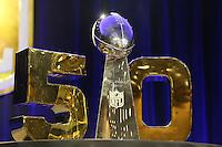 05.02.2016: NFL Commissioner Roger Goodell Pressekonferenz