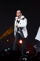Donnie Wahlberg of the New Kids on The Block perform at BB&T Center during The Package Tour 2013, Sunrise, Florida, June 22, 2013