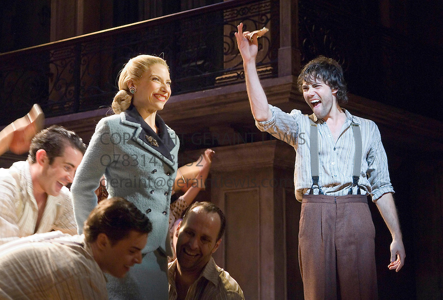 Evita by Andrew Lloyd Webber and Tin Rice,directed by Michael Grandage. With Elena Roger as Eva Peron ,Matt Rawle as Che. Opens at the Adelphi Theatre on 21/6/06. CREDIT Geraint Lewis