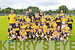 Players from Dr Crokes and Southern Gaels from New York who played in Lewis Road on Saturday morning