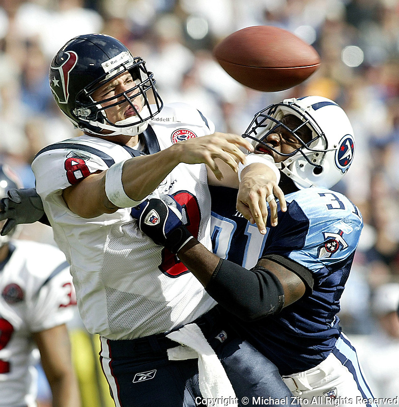 In an NFLFootball game held at The Coliseum where the  Tennessee Titans Defeated the Houston Texans 17-10<br />