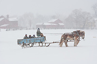 Sleigh Ride, Howell Living History Farm, New Jersey
