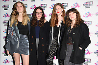 The Big Moon at the VO5 NME Awards 2018 at the Brixton Academy, London, UK. <br /> 14 February  2018<br /> Picture: Steve Vas/Featureflash/SilverHub 0208 004 5359 sales@silverhubmedia.com