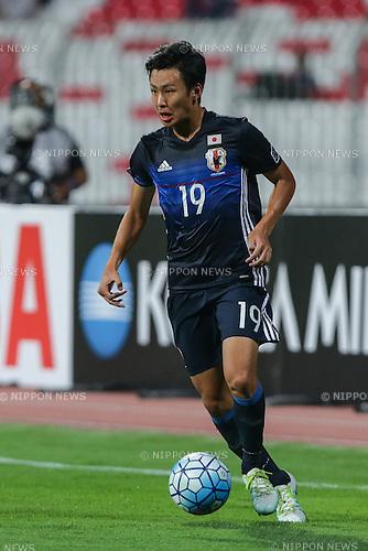 Kakeru Funaki (JPN), OCTOBER 30, 2016 - Football / Soccer : AFC U-19 Championship Bahrain 2016 Final match between Japan 0(5-3)0 Saudi Arabia at Bahrain National Stadium in Riffa, Bahrain. (Photo by AFLO)