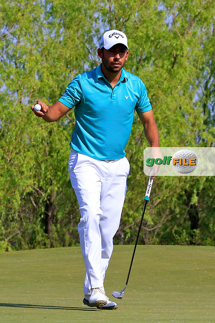 Pablo Larraz&aacute;bal (ESP) during the second round of the Volvo China Open played at Topwin Golf and Country Club, Huairou, Beijing, China 27- 30 April 2017.<br /> 28/04/2017.<br /> Picture: Golffile | Phil Inglis<br /> <br /> <br /> All photo usage must carry mandatory copyright credit (&copy; Golffile | Phil Inglis)