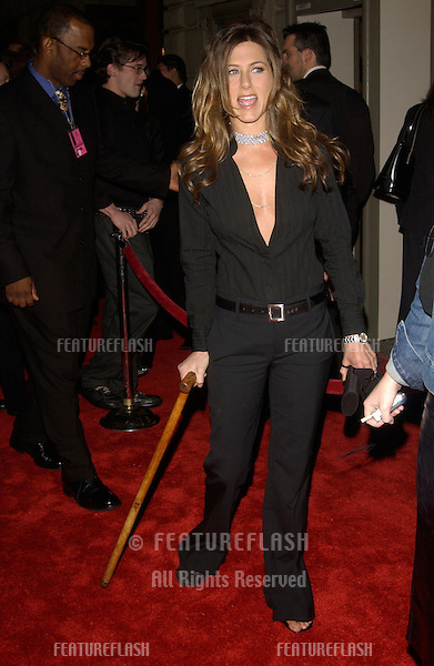 Actress JENNIFER ANISTON at the 29th Annual People's Choice Awards in Pasadena..12JAN2003.  © Paul Smith / Featureflash