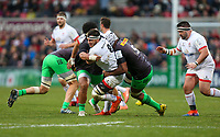 Saturday 7th December 2019 | Ulster Rugby vs Harlequins<br /> <br /> Marcell Coetzee during the Heineken Champions Cup Round 3 clash in Pool 3, between Ulster Rugby and Harlequins at Kingspan Stadium, Ravenhill Park, Belfast, Northern Ireland. Photo by John Dickson / DICKSONDIGITAL