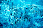 Alaska: Portage Glacier near Anchorage. Closeup of ice as seen from a cruise ship.  Photo akgran102..Photo copyright Lee Foster, 510/549-2202,  lee@fostertravel.com, www.fostertravel.com
