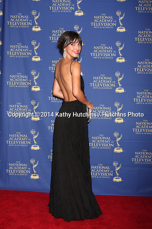 LOS ANGELES - JUN 20:  Denyse Tontz at the 2014 Creative Daytime Emmy Awards at the The Westin Bonaventure on June 20, 2014 in Los Angeles, CA