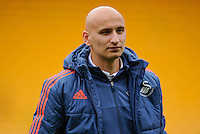 Jonjo Shelvey of Swansea City during the Barclays Premier League match between Norwich City and Swansea City played at Carrow Road, Norwich on November 6th 2015