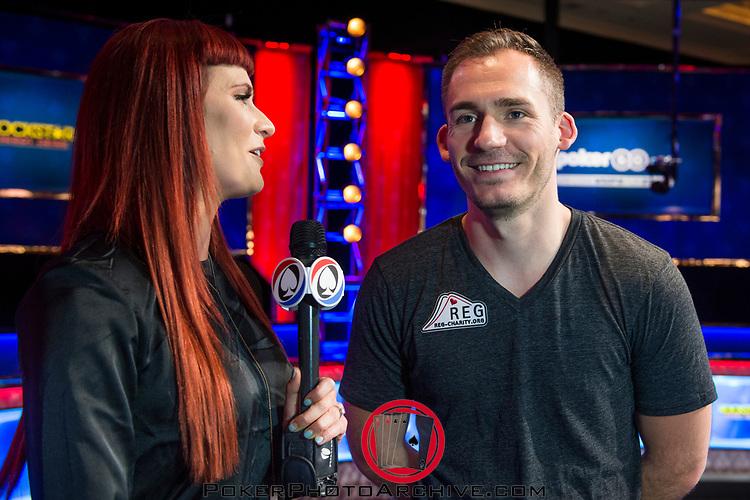Sarah Herring interviews Winner Justin Bonomo