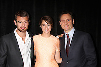 Theo James, Shailene Woodley, Tony Goldwyn<br />