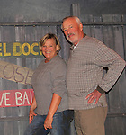 """Guiding Light and OLTL's Kim Zimmer and As The World Turns' Bill Tatum """"Arthur"""" star in The Shuck Light and who on opening nght Sept 28, 2018 at the Cape May Stage in Cape May, New Jersey. (Photo by Sue Coflin/Max Photo)"""