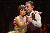 "Pictured: Vincent Simone and Flavia Cacace performing. TV's Strictly Come Dancing favourites Vincent Simone and Flavia Cacace bring their brand new show ""Dance 'Til Dawn"" to the West End for a limited 10 week run. The show features dances from the Golden Age of Hollywood and runs at the Aldwych Theatre to 3 January 2015. Photo credit: Bettina Strenske"