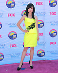 Ashley Rickards at FOX's 2012 Teen Choice Awards held at The Gibson Ampitheatre in Universal City, California on July 22,2012                                                                               © 2012 Hollywood Press Agency