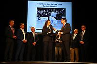 Gross-Gerau 15.03.2019: Sportlergala des Kreis Groß-Gerau<br /> Daniela Woelke (TSV Wolfskehlen) wird als Sportlerin des Jahres 2018 ausgezeichnet<br /> Foto: Vollformat/Marc Schüler, Schäfergasse 5, 65428 R'eim, Fon 0151/11654988, Bankverbindung KSKGG BLZ. 50852553 , KTO. 16003352. Alle Honorare zzgl. 7% MwSt.