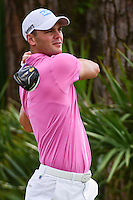 Martin Kaymer (DEU) watches his tee shot on 2 during round 3 of the Honda Classic, PGA National, Palm Beach Gardens, West Palm Beach, Florida, USA. 2/25/2017.<br /> Picture: Golffile | Ken Murray<br /> <br /> <br /> All photo usage must carry mandatory copyright credit (&copy; Golffile | Ken Murray)