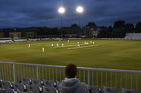 General view of play late in the day under the floodlights during Essex CCC vs Middlesex CCC, Specsavers County Championship Division 1 Cricket at The Cloudfm County Ground on 28th June 2017