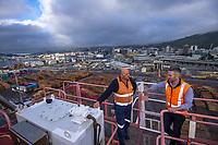 CentrePort in Wellington, New Zealand on Thursday, 24 June 2020. Photo: Dave Lintott / lintottphoto.co.nz