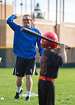 Los Altos Little League Skills Clinic at LAHS, December 8, 2012.