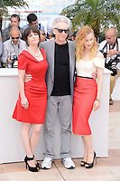 "Emily Hampshire, Robert Pattinson and Sarah Gadon attending the ""Cosmopolis"" Photocall during the 65th Annual Cannes International Film Festival in Cannes, France, 25.05.2012...Credit: Timm/face to face /MediaPunch Inc. ***FOR USA ONLY***"