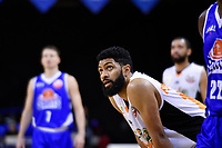 Hawks' Dion Prewster in action during the NBL - Cigna Saints v Hawkes Bay Hawks at TSB Arena, Wellington, New Zealand on Sunday 27 May 2018.<br /> Photo by Masanori Udagawa. <br /> www.photowellington.photoshelter.com