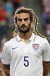 13 July 2015: Kyle Beckerman (USA). The United States Men's National Team played the Panama Men's National Team at Sporting Park in Kansas City, Kansas in a 2015 CONCACAF Gold Cup Group A match.