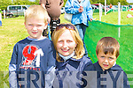 Rory, Mary and Daniel King Kilcummin looking at the horses at the Castleisland races in Powells road Castleisland on Sunday   Copyright Kerry's Eye 2008