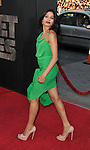 Freida Pinto arriving at the Rise Of The Planet Of The Apes premiere held at Grauman's Chinese Theatre Los Angeles, Ca. July 28, 2011. @Fitzroy Barrett