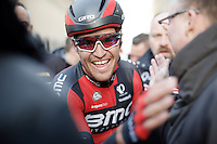 Finally a big win for Greg Van Avermaet (BEL/BMC) in the opening races in Belgium<br /> <br /> 71st Omloop Het Nieuwsblad 2016