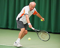 August 22, 2014, Netherlands, Amstelveen, De Kegel, National Veterans Championships, Ruurd Tjallema (NED)<br /> Photo: Tennisimages/Henk Koster