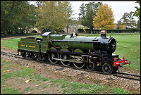 BNPS.co.uk (01202 558833)<br /> Pic:  BraybrookCollection/BNPS<br /> <br /> A late aristocrat's prized collection of model trains has sold for £244,000.<br /> <br /> Lord Braybrooke set up a miniature garden railway 55 years ago in the grounds of his stately home at Audley End House in Saffron Walden, Essex.<br /> <br /> He died in 2017 and his family parted with nine of his locomotives to raise funds to improve the railway's facilities so it can keep running for future generations.