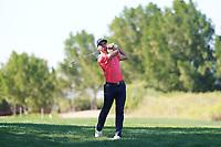 Adri Arnaus (ESP) on the 6th fairway during Round 2 of the Abu Dhabi HSBC Championship 2020 at the Abu Dhabi Golf Club, Abu Dhabi, United Arab Emirates. 17/01/2020<br /> Picture: Golffile   Thos Caffrey<br /> <br /> <br /> All photo usage must carry mandatory copyright credit (© Golffile   Thos Caffrey)