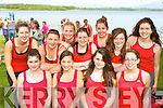 Fossa RC rowers at the Killarney Regatta on Monday evening front l-r: Katie Murphy, Katie Talbot, Shannon Tangney, Moya Murphy. Back row: Noreen Griffin, Marie Twiss, Annie Sheehan, Katie Giles, Katherine Coffey, Roisin Murphy and Noreen O'Sullivan