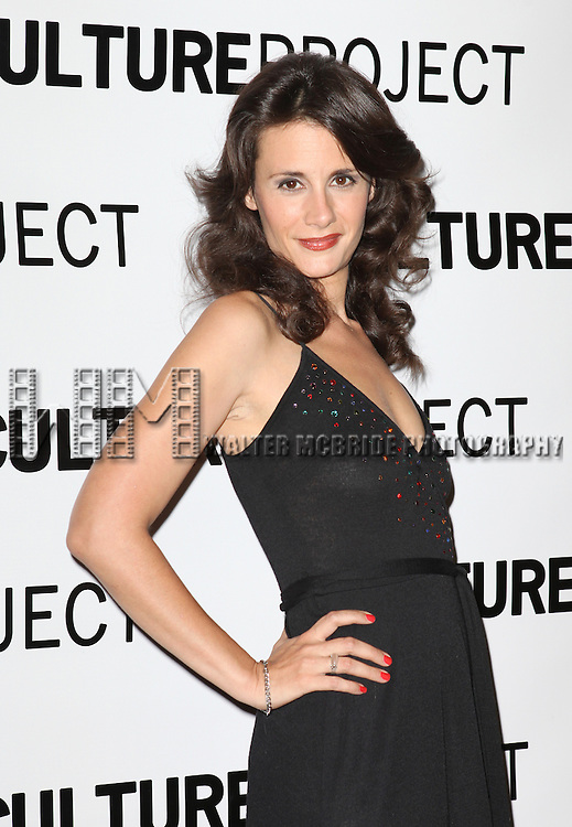 Jessica Black attending the after Party for 10th Anniversary Production of 'The Exonerated' at the Culture Project in New York City on 9/19/2012.
