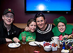Greg, Louise, Maria and Jane Ashe in Barocco for St. Patrick's Day..Picture: Shane Maguire / www.newsfile.ie.