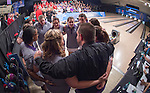 16 APR 2016:  Stephen F. Austin ahead of the Division I Women's Bowling Championship held at the Brunswick Zone Carolier in North Brunswick, NJ.  Stephen F. Austin State won the national title.  Ben Solomon/NCAA Photos