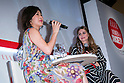 (L to R) Kanako Sakai, ELLE Contents editor-in-chief and the American socialite Olivia Palermo speak to the audience during the ''ELLE Women in Society'' event on July 13, 2015, Tokyo, Japan. The event promotes the working women's roll in Japanese society with various seminars where top businesswomen, musicians, writers and other international celebrities speak about the working women's roll in the world. By 2020 Prime Minister Shinzo Abe's administration aims to increase the percentage of women in leadership positions to 30% in Japan. (Photo by Rodrigo Reyes Marin/AFLO)