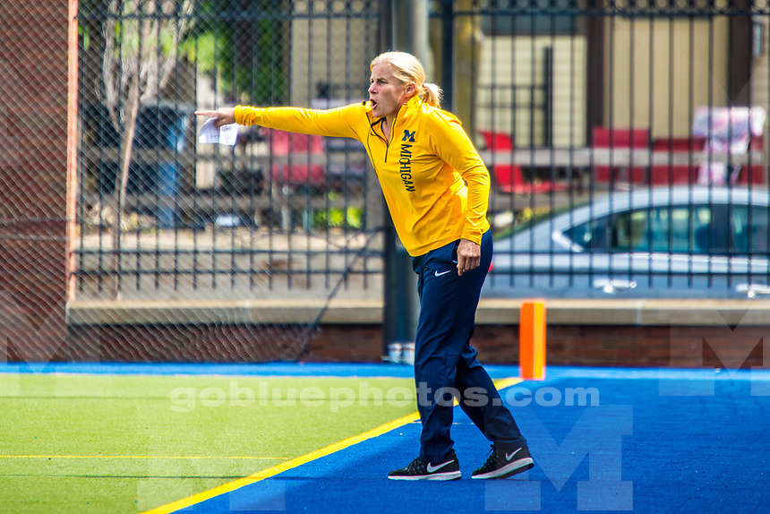 The University of Michigan field hockey team loses to UConn, 2-1, at Ocker Field in Ann Arbor on Sept. 3, 2017.