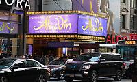 Aladdin im New Amsterdam Theatre - 11.04.2018: Sightseeing in New York