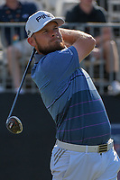 Tyrrell Hatton (ENG) watches his tee shot on 1 during round 1 of the Arnold Palmer Invitational at Bay Hill Golf Club, Bay Hill, Florida. 3/7/2019.<br /> Picture: Golffile | Ken Murray<br /> <br /> <br /> All photo usage must carry mandatory copyright credit (© Golffile | Ken Murray)