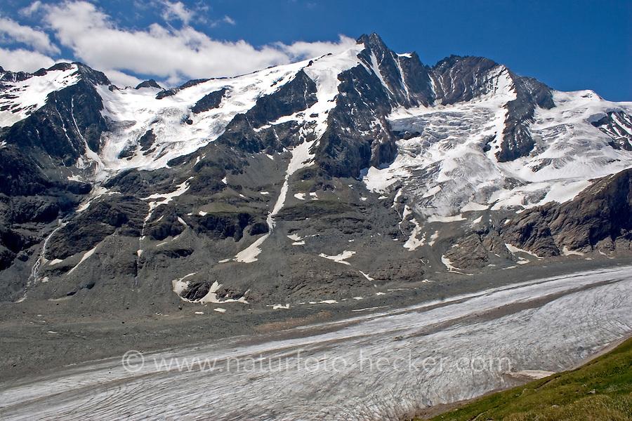 Großglockner, Glockner, Alpen, Nationalpark Hohe Tauern. Grossglockner, Alps, Austria