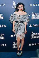 Charli XCX at Delta Air Lines Kicks Off GRAMMY Weekend With Performance By Charli XCX & DJ Set By Questlove (Photo by Tiffany Chien/Guest Of A Guest)